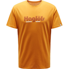 Haglöfs Camp t-shirt Heren geel